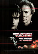 The Rookie 1990 Movie poster Clint Eastwood