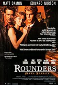 Rounders 1999 Movie poster Matt Damon