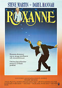 Roxanne 1987 Movie poster Steve Martin