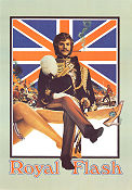 Royal Flash 1975 Movie poster Malcolm McDowell