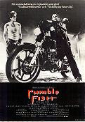 Rumble Fish 1983 poster Matt Dillon Francis Ford Coppola