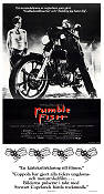 Rumble Fish 1992 Movie poster Matt Dillon Francis Ford Coppola