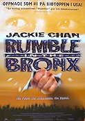 Rumble in the Bronx 1995 Movie poster Jackie Chan