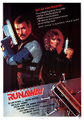 Runaway 1984 Movie poster Tom Selleck