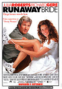 Runaway Bride 1999 Movie poster Julia Roberts Garry Marshall