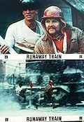 Runaway Train Lobby card set Sweden FN original