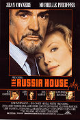 The Russia House 1990 Movie poster Sean Connery