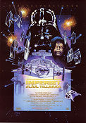The Empire Strikes Back 1979 Movie poster Mark Hamill George Lucas