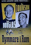 When in Rome 1952 Movie poster Van Johnson