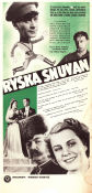 Ryska snuvan 1937 Movie poster �ke S�derblom