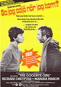 The Goodbye Girl 1977 poster Richard Dreyfuss Herbert Ross