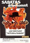 Return of Sabata 1972 Movie poster Lee Van Cleef