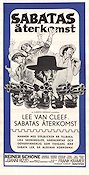Return of Sabata 1973 poster Lee Van Cleef