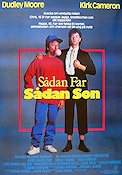 Like Father Like Son 1987 Movie poster Dudley Moore