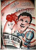 Higher and Higher 1944 Movie poster Frank Sinatra