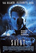The Saint 1997 Movie poster Val Kilmer