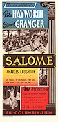 Salome 1953 poster Rita Hayworth William Dieterle