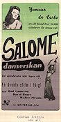 Salome Where She Danced 1945 poster Yvonne De Carlo