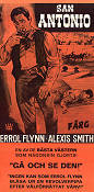 San Antonio 1945 Movie poster Errol Flynn