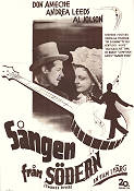 Swanee River 1939 poster Don Ameche Sidney Lanfield