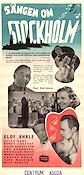 S�ngen om Stockholm 1947 Movie poster Alice Babs
