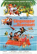 Bedknobs and Broomsticks Poster 70x100cm FN original