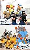 Bedknobs and Broomsticks 1972 lobby card set Angela Lansbury