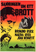 Desire in the Dust 1961 poster Raymond Burr