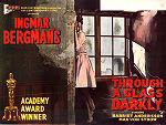 Through a Glass Darkly 1961 poster Harriet Andersson Ingmar Bergman