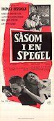 Through a Glass Darkly 1961 Movie poster Harriet Andersson Ingmar Bergman