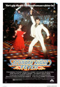 Saturday Night Fever 1978 Movie poster John Travolta John Badhamn