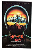 Savage Dawn 1985 poster George Kennedy