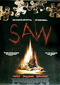Saw 2004 Movie poster James Wan