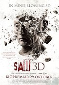 Saw 3D 2010 Movie poster Tobin Bell