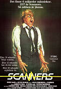 Scanners 1981 Movie poster Jennifer O'Neill David Cronenberg