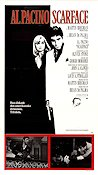 Scarface 1983 Movie poster Al Pacino Brian De Palma