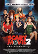 Scary Movie 2 2001 poster Anna Faris Keenen Ivory Wayans