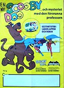 Scooby-Doo och den f�rsvunna professorn 1977 Movie poster Scooby-Doo