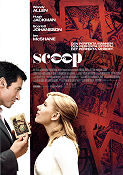 Scoop 2006 Movie poster Scarlett Johansson Woody Allen