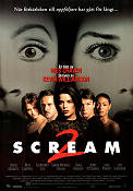 Scream 2 1997 poster David Arquette Wes Craven