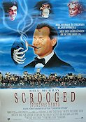 Scrooged 1988 Movie poster Bill Murray