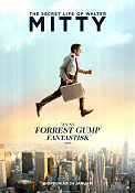 The Secret Life of Walter Mitty 2013 poster Kristen Wiig Ben Stiller
