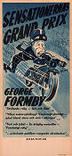 No Limit 1935 Movie poster George Formby