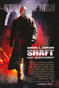 Shaft 2000 Movie poster Samuel Jackson