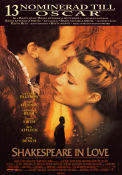 Shakespeare In Love 1998 filmaffisch