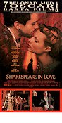 Shakespeare in Love 1998 Movie poster Gwyneth Paltrow