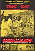 Shalako 1968 Movie poster Sean Connery