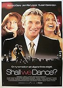 Shall We Dance 2004 poster Richard Gere