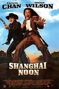 Shanghai Noon 1999 Movie poster Jackie Chan