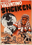 The Sheik 1921 poster Rudolph Valentino